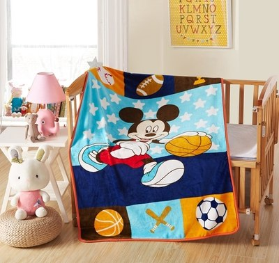 Promotion! Cartoon  Baby Kids Blanket Coral Fleece Blanket On The Bed Soft Fleece Blanket Baby Bedding set Cartoon Quilt - thefashionique