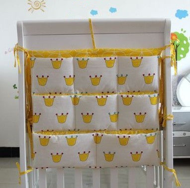 Promotion!  Cartoon Diapers organizer baby bed hanging bag portable storage bedding set 62*52cm accessories storage bag - thefashionique