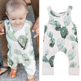 Pudcoco Newborn Infant Baby Girl Boy Cactus Romper Babygrow Sleeveless Summer Clothes Jumpsuit Playsuits - thefashionique