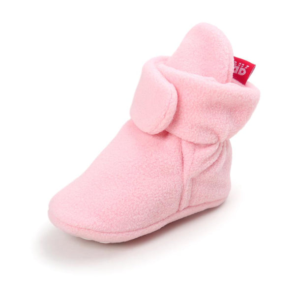 ROMIRUS New baby shoes Newborn Cozie Faux Fleece Bootie Winter Warm Infant Toddler Crib Shoes Classic Floor Boys Girls Boots - thefashionique
