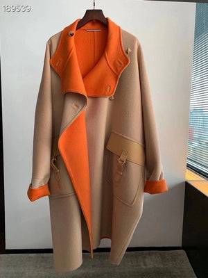 Runway Luxury Brand High Quality Autumn Winter Cashmere Women Color