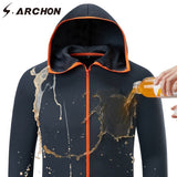 S.ARCHON Summer Tactical Waterproof Jacket Men Hoodie Soft New Tech Quick Dry Breathable Jackets Outwear Thin Spring Jackets - thefashionique