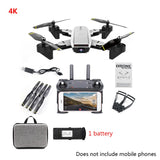 SG700-D 4K HD Wide Angle Drone with Camera Positioning Folding FPV RC Quadcopter - thefashionique