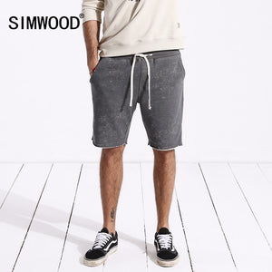 SIMWOOD 2018 Summer New Shorts Men Sportswear Comfortable Vintage Fashion Casual Sweat Trousers Shorts Free Shipping 180440 - thefashionique