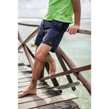 SIMWOOD 2019 summer new holiday beach shorts men drawstring loose casual  letter embroidery shorts 190292 - thefashionique