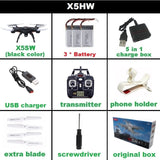 SYMA X5SW FPV Drone X5C Upgrade WiFi Camera Real Time Video RC Quadcopter 2.4G 6-Axis Headless Mode Quadrocopter Helicopter - thefashionique