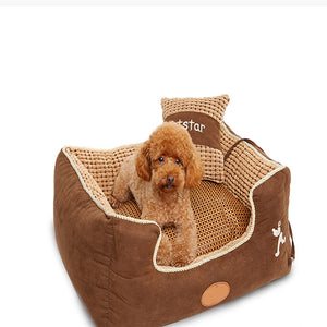 Safe Durable Plush Dogs Sleeping Bags Resistant Bite Large Soft Indoor Dog Sleeping Bag Pet Beds Plysch Kennel Pet Tool DD6GW