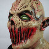 Scary Adult Halloween Monster Zombie Mask Latex Costume Party Horror Face Mask Full Head Vampire Cosplay Mask Masquerade Props