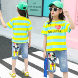 School Girl Boutique Clothing Set Summer Clothing 2 Pieces Set Cute Girls Summer Outfits