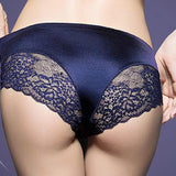 Seamless women's sexy lace panties Silk girl panty Hollow briefs lingerie Postpartum Maternity Intimates underwear clothing B2 - thefashionique