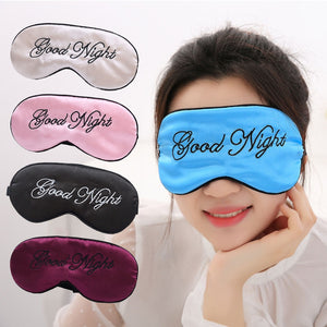Silk embroidered eye mask shading eye mask mulberry silk embroidered eye mask shading sleep beauty eye mask - thefashionique