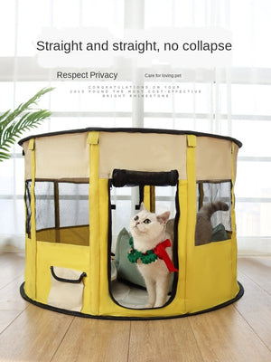 Simple cat delivery room complete set of cat nest tent Dog breeding box Pet products Large space and multi functions cat beds