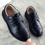 Size26-41 Boys Leather Shoes Black Brown Students Formal Shoes Gentlemen's Party Dress Shoes Soft Stage Performance Costumes - thefashionique