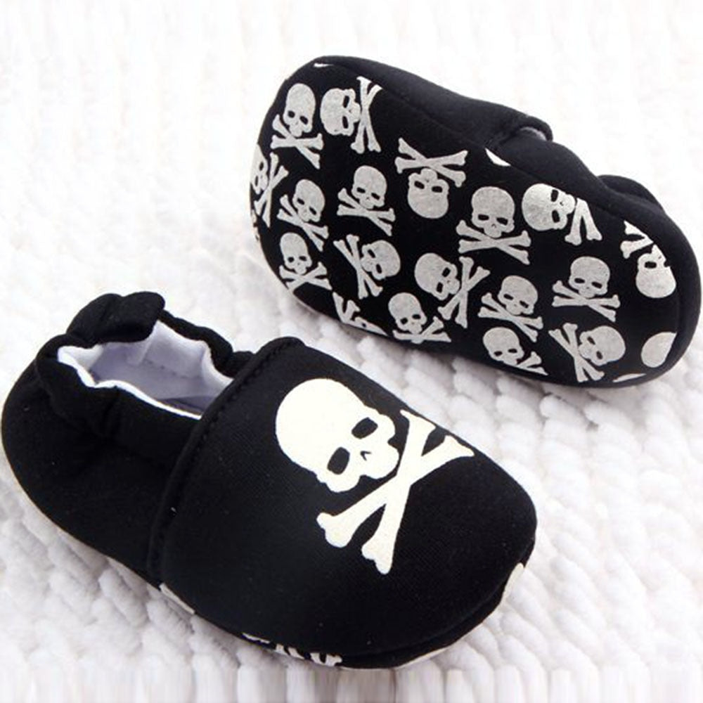 Skull Shoes Baby Shoes Girl Infants Toddlers Casual Shoe Newborn zapatos bebe recien nacido sapatos infantis - thefashionique