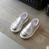 Smgslib Children shoes Girls casual Flat silver Pink kids casual Shoes toddler girls shoes summer fashion trainers boys sneakers - thefashionique