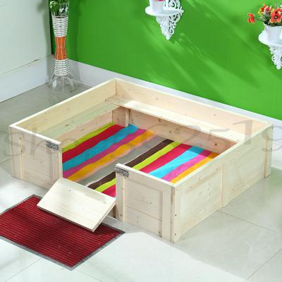 Solid wood kennel cat litter pet cat delivery room large cats and dogs property property bed pet production young armpit