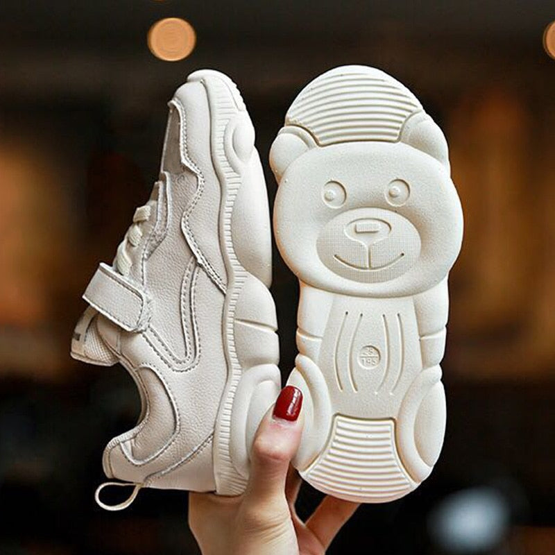 Spring Autumn Children Casual Sport Running Shoes for Girls Boys Kids Soft Bottom Cute Bear Breathable Sneakers Toddler Shoes - thefashionique