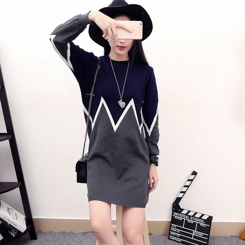 Spring Autumn Feed Knitted Maternity Nursing Sweater Pullover Clothes for Pregnant Women Plus Size Slim Pregnancy Clothes C377