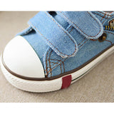 Spring Autumn Jeans Kids Shoes Low-top Denim Children Sneakers for Boys Girls Breathable Baby Infant Canvas Sport Shoes CSH248 - thefashionique