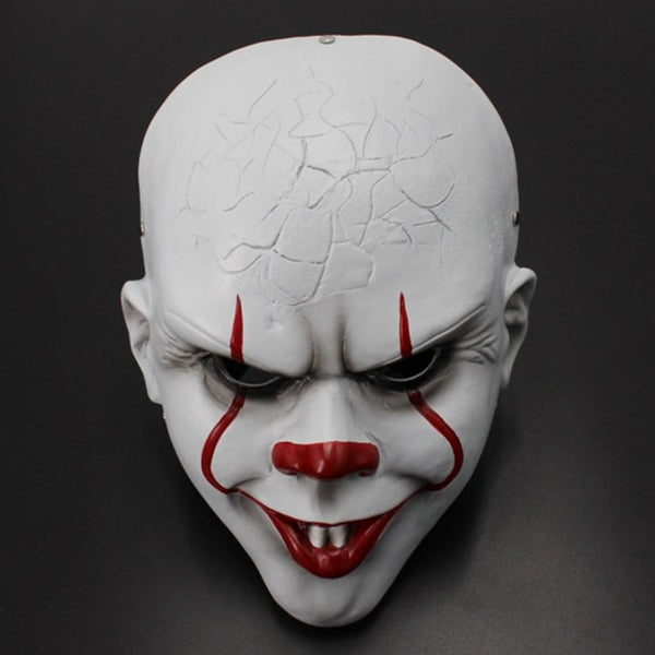 Stephen King's It: Chapter Two Pennywise Clown Cosplay Resin Mask Props Halloween Costumes Props