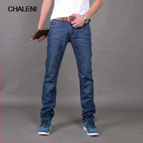 Straight jeans loose large size young men's summer thin section men's pants casual pants Korean super thin QC-A359-604