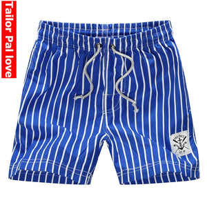 Striped Board Shorts Beach Swimming Shorts for Men Bordshorts Bermuda Swimwear Surf Swimshorts Quick Dry Swimsuit 2018 Trunks