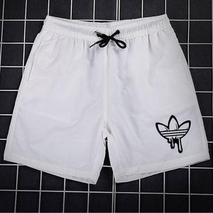 Summer 2018 Casual Beach Shorts Men Exercise Elastic Waist Sim Fit Solid Knee Length Bermudas Masculina Plus Size 3XL Men Shorts - thefashionique