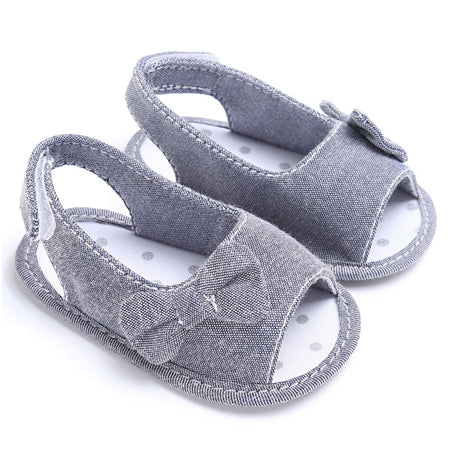 22a09acdbde Summer Baby Girl Bowknot Sandals Newborn Infant Casual Outdoor Princes