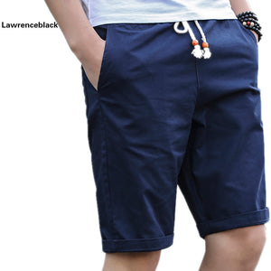 Summer Cotton Shorts Men Fashion Brand Boardshorts Breathable Male Casual Shorts Comfortable Plus Size Cool Short Masculino 208 - thefashionique