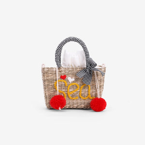 Summer Hand-Embroidered Mini Vacation Straw Bags 2020 New Tide Messenger Basket Package