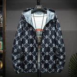 Summer New Jacket Men Large Size 3XL-5XL Jumper Pullowers Ultra Thin Breathable