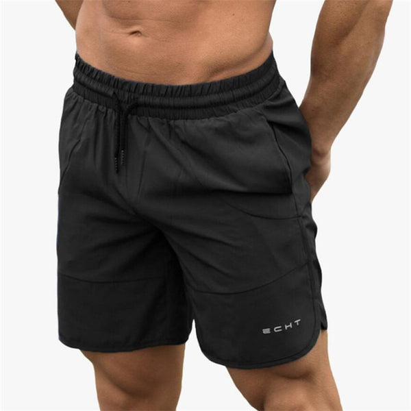 Summer New Men Gyms Shorts Calf-Length Fitness Bodybuilding Fashion Casual Joggers Workout Crossfit Beach Short Pants Sweatpants - thefashionique
