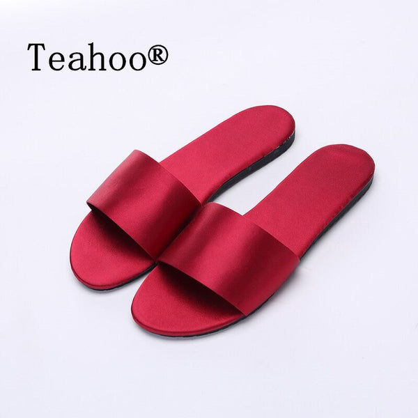 Summer Women Slides Fashion Women Slippers Sandals Soft Soles Home Bathroom Slippers Beach Flip Flops Shoes Woman Outside Flat - thefashionique