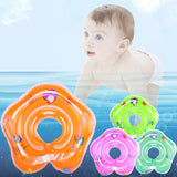 Swimming Baby Accessories Neck Ring Tube Safety Infant Float Circle For Bathing Inflatable Buoy Circle For Newborn Baby Floaties