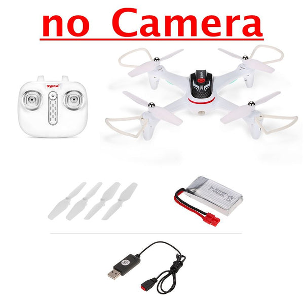 Syma X15W Wifi FPV 0.3MP Camera Drone RC Quadcopter G-sensor Barometer Set Height Headless Mode RTF Selfie Drone Helicopter - thefashionique