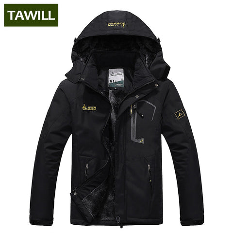 TAWILL Brand 2018 New thermal Warm Winter Jacket Men Coat outwear Waterproof Windproof Hood 816