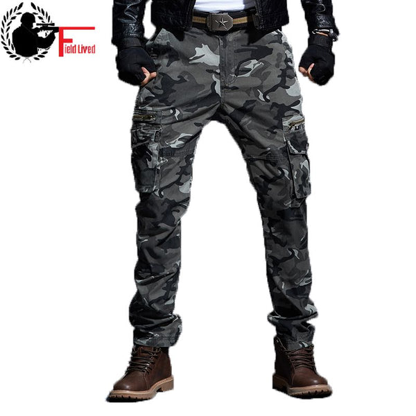 05b48119df Tactical Camo Pants Mens Military Style Cargo Pants Army Camouflage St