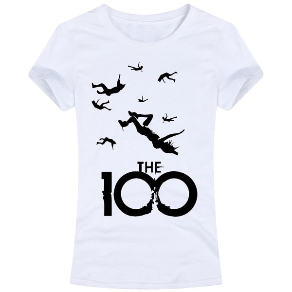The 100 Tv Series Adult Female Women Tops Tees T Shirts Casual Fashion Octavia Blake Hundred Cw Series Hero Clarke Clark Sci Fi - thefashionique