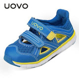 UOVO 2018 Kids Shoes Summer Sandals Shoes for Boys and Girls Brand Breathable Sneakers for Children High quality Eur Size 27-33# - thefashionique