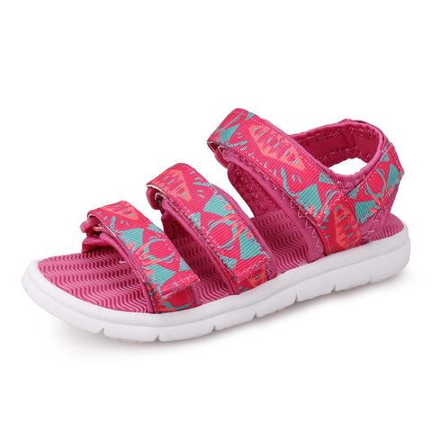 UOVO Kids Sandals 2019 Summer  Children Sandals for Girls  Girls Princess Shoes Breathable Baby Girls Sandals - thefashionique