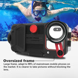 Underwater Phone Case For Huawei P20 P30 Pro Mate 20 30 Pro 60M Waterproof Phone Housing With HD Lens For Diving Swimming 1pc
