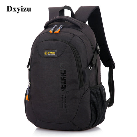 Unisex School Bag Waterproof Nylon Brand New Schoolbag Business Men Women Backpack Polyester Bag Shoulder Bags Computer Packsack - thefashionique
