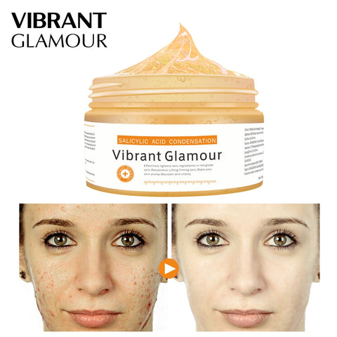 VIBRANT GLAMOUR Salicylic Acid Condensation Face Mask Skin Care Remove Acne Treatment Oil Control Pigmentation Corrector Cream