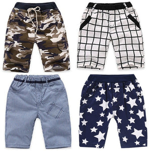 VIDMID boys shorts trousers plaid baby boys cotton shorts summer children kids camouflage boy casual shorts clothes 4074
