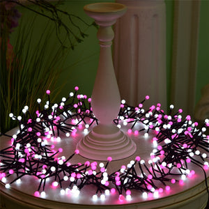 VNL Outdoor 8M 400 LED String Lights Changeable for Pink Xmas Garland Cafe Party Wedding Decoration Christmas Fairy Lights