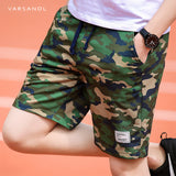Varsanol Camouflage Shorts Mens Military Style Casual Shorts Men's Summer Beach Shorts New Fashion Streetwear Elastic Waist 920 - thefashionique