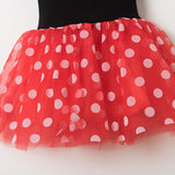 Vintage Red Pink Polka Dots Dress for Baby Girls Dresses Party tutu Dress Infant Baby Girl Summer Clothes Fancy vestido bebes - thefashionique