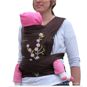 WENDYWU 2017 hot Sale MEITAI Baby Carrier Carry baby Sling pattern design activity&gear Infant Braces Backpack Wrap Strap - thefashionique