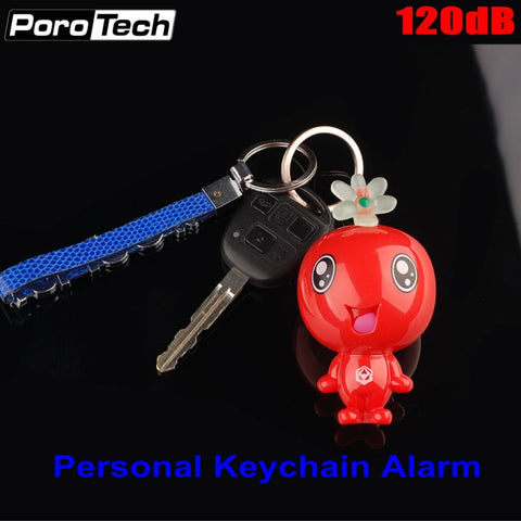 Wholesale 120dB Super Loud Personal Safety Alarm Mini Cute Key Chain Alarm Emergency Panic Alarm for students women Girls Kids - thefashionique