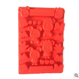 Wholesale 300PCS Cartoon shape ice mold Silicone Ice Cube Tray Mold Maker Ice Cream Mold Maker Ice Mould Free Fedex/DHL nw68